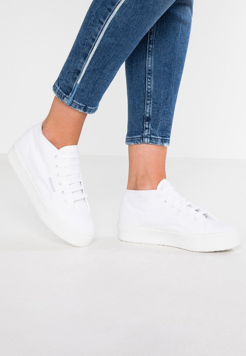 Superga - 2756 - Zapatillas altas - total white