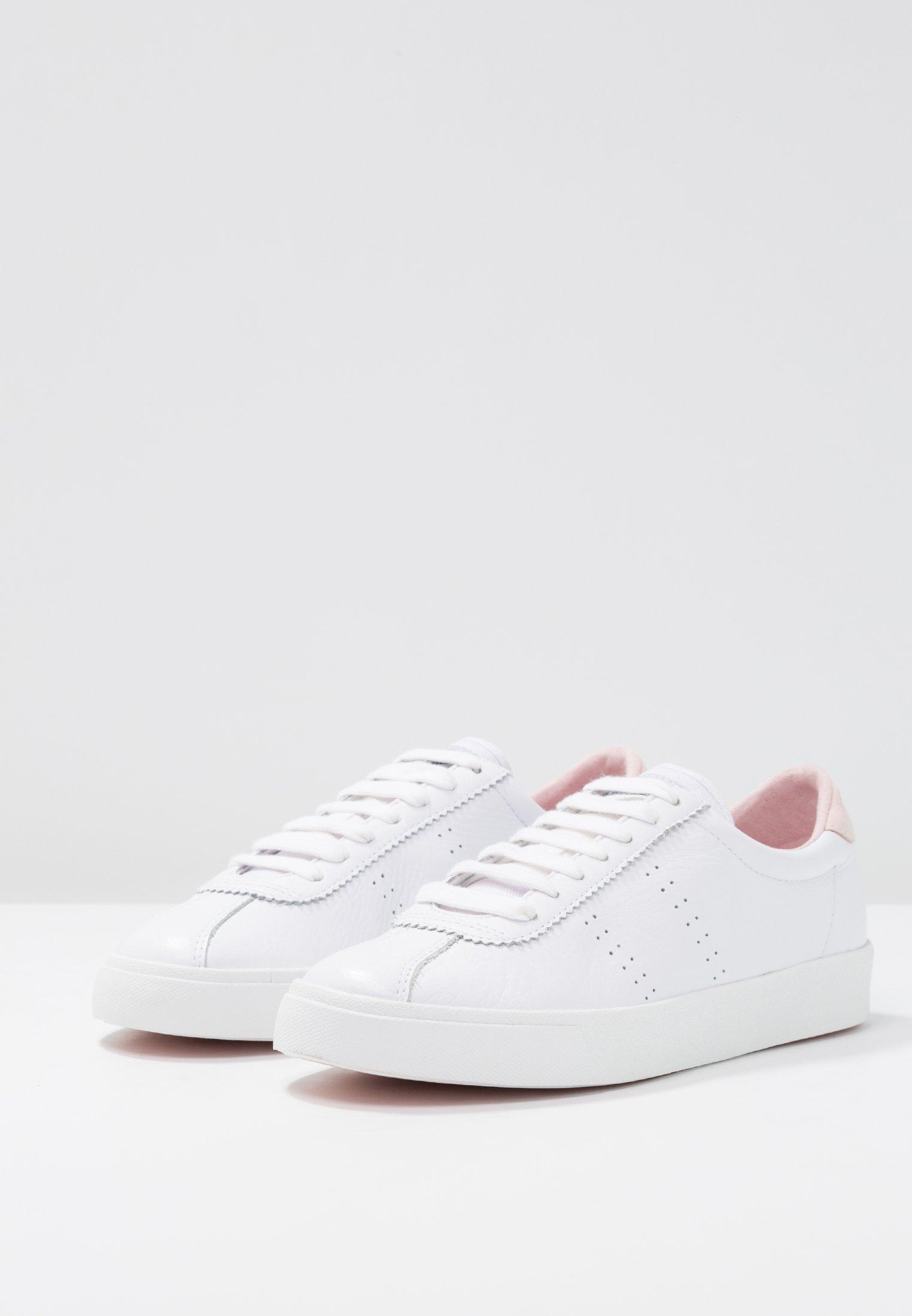 Superga 2843 - Sneakersy niskie - white/pink