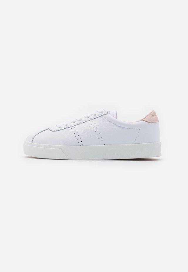 2843 - Joggesko - white/pink peach blush