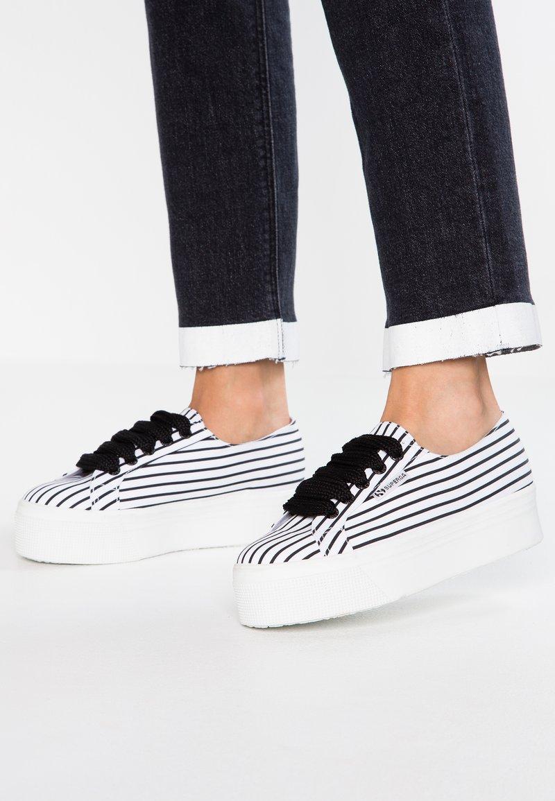 Superga - 2790 - Zapatillas - white/black