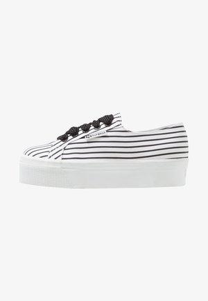 2790 - Matalavartiset tennarit - white/black