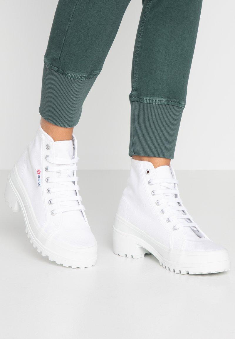 Superga - 2448 - Platform ankle boots - white