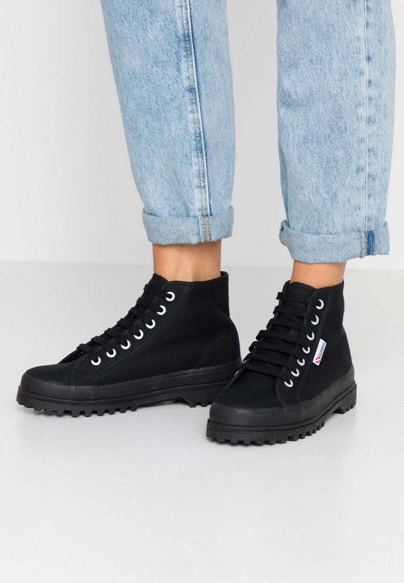 Superga - Zapatillas altas - full black