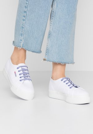 2730 - Sneakers laag - white/violet persian