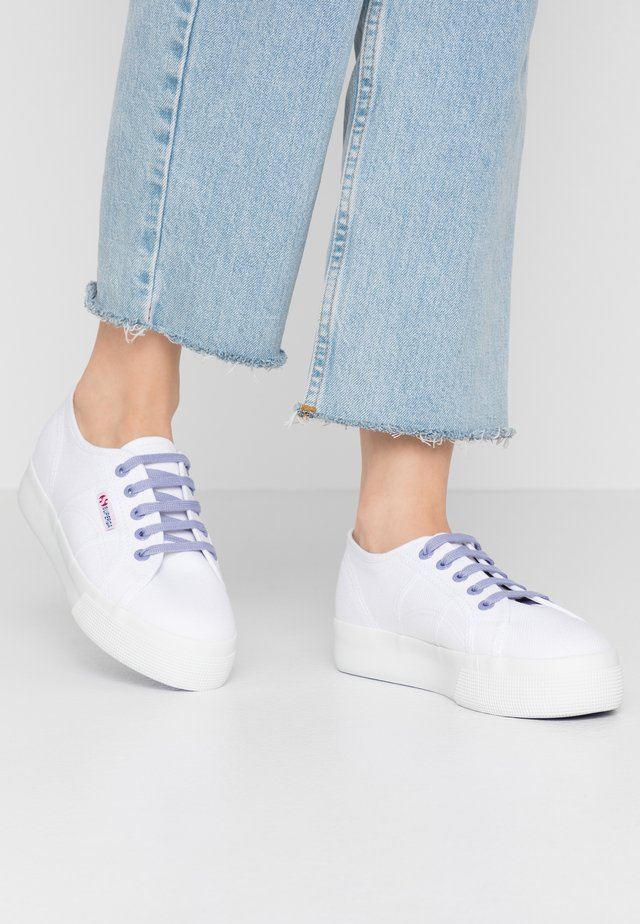2730 - Sneaker low - white/violet persian