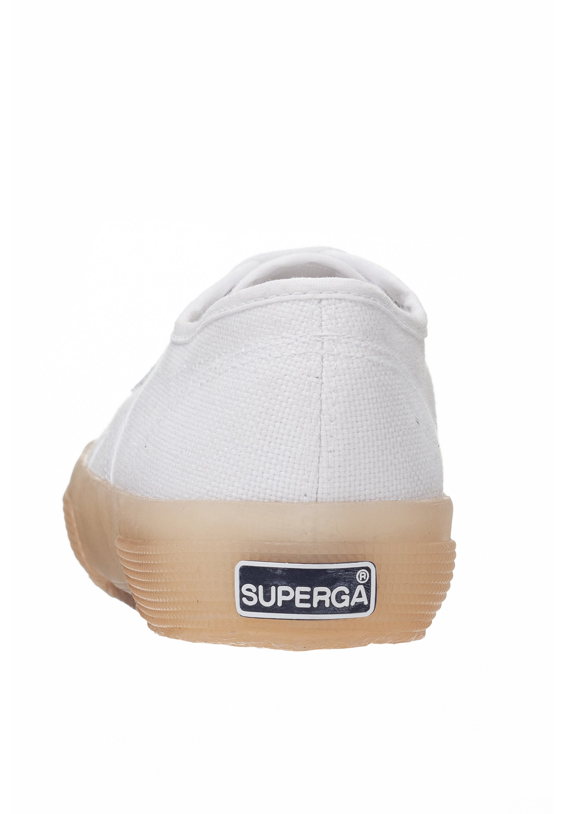 Superga Trainers - white coral purple