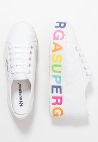 Superga - 2790 GLITTERLETTERING - Tenisky - white/multicolors - 3