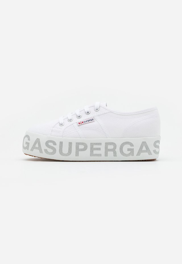 2790 GLITTERLETTERING - Sneakers laag - white/silver