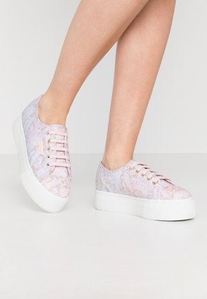 2790 MARBLEPRINT - Sneakers - pink/pale lilac/gold