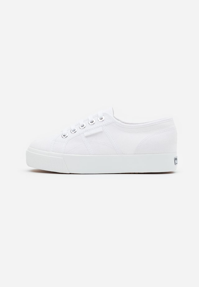 BIGEYELETS - Sneakers basse - white/platinum