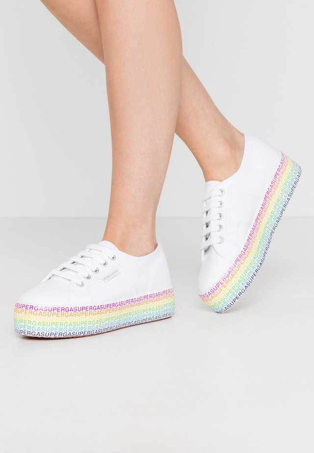 2790 MINILETTERING - Sneakers laag - white/multicolor