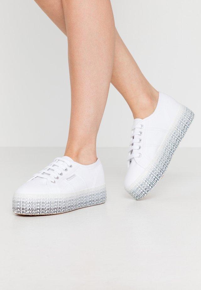 2790 MINILETTERING - Sneaker low - white/black