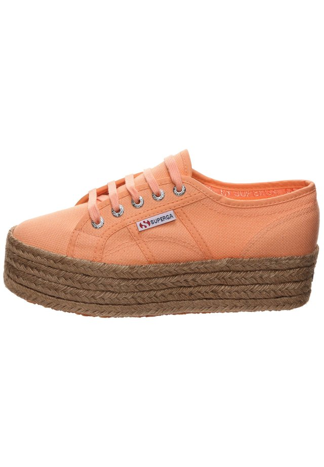 Sneakers laag - orange melon