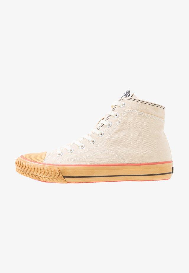 2946 - Höga sneakers - ecru