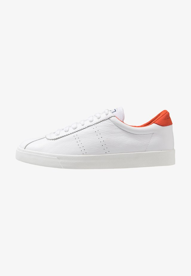 COMFLEAU - Sneakers basse - white/red