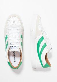 Superga - LEAU - Zapatillas - white/green - 1