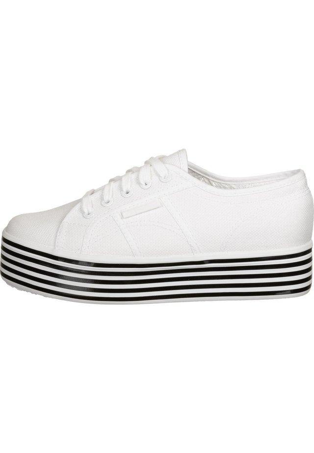 SCHUHE 2790 MULTICOLOR COTW - Sneaker low - white black white stripes