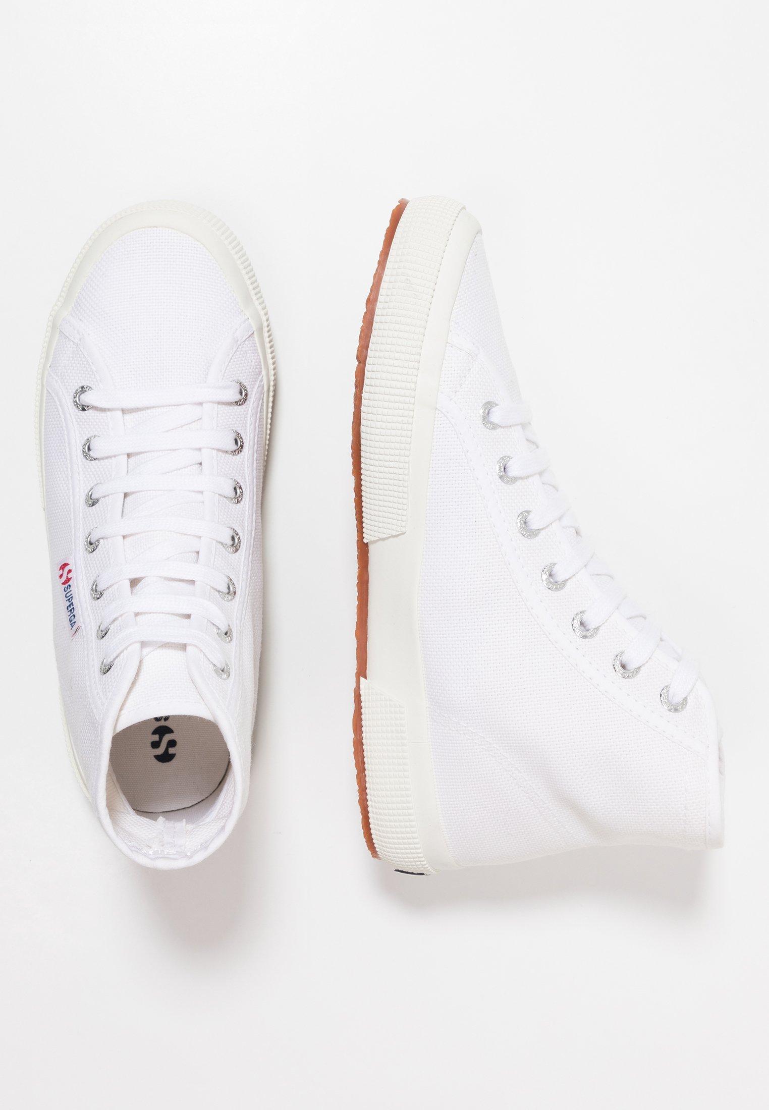 Superga 2795 - Sneakers alte - white HlEgbC2a