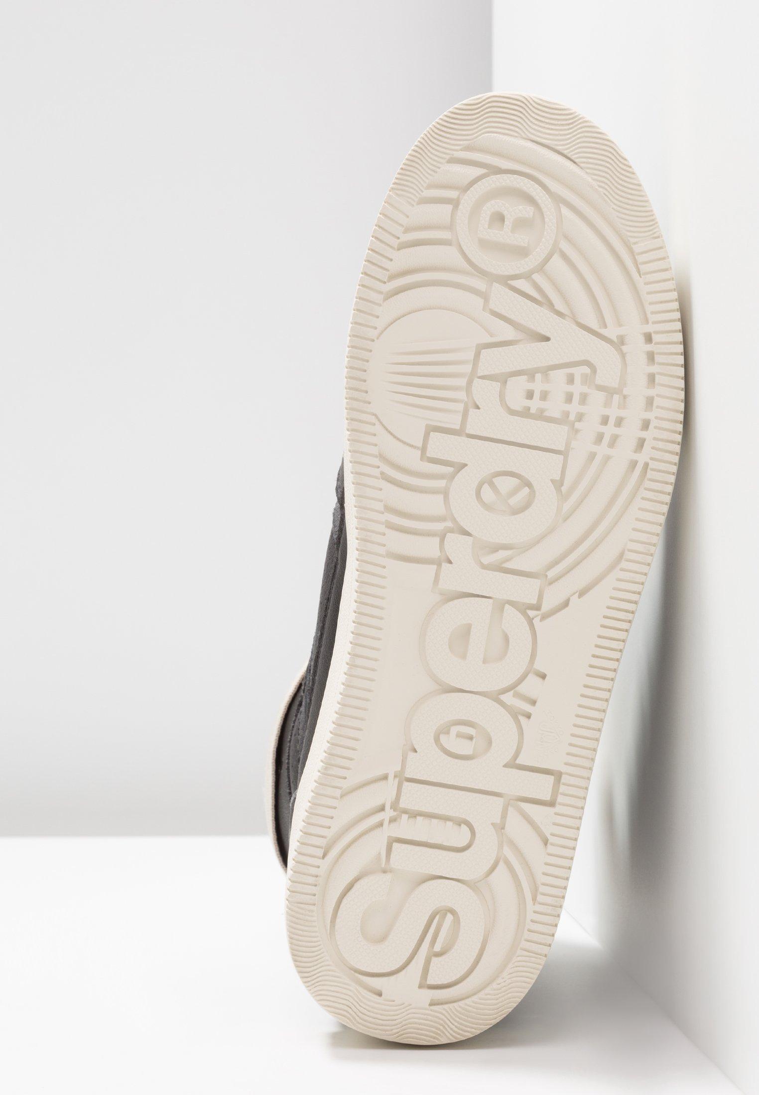 Superdry URBAN TOP - Höga sneakers - black