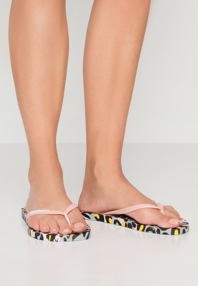 Superdry - SUPER SLEEK  - Pool shoes - liona