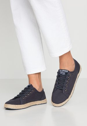 LACE UP  - Espadrille - nautical navy
