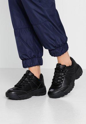 WIDE FIT  - Sneakersy niskie - black