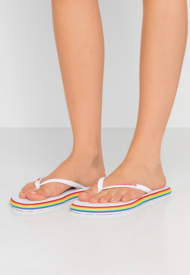 T-bar sandals - optic