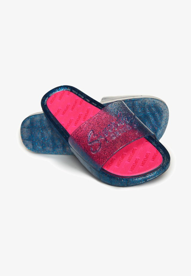 Sandales de bain - rainbow glitter
