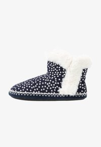 Superdry - SLIPPER BOOT - Slippers - navy - 1