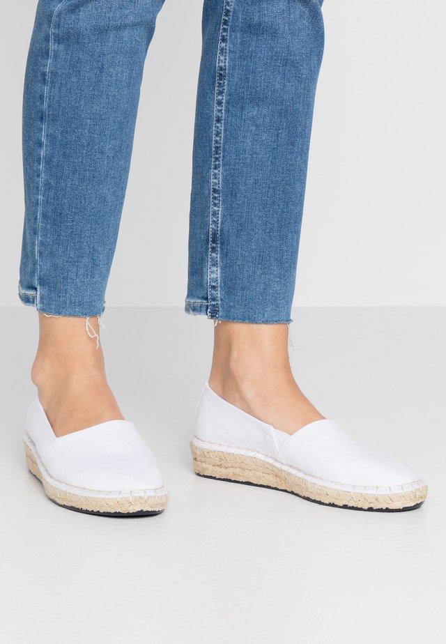 Espadrilles - optic white