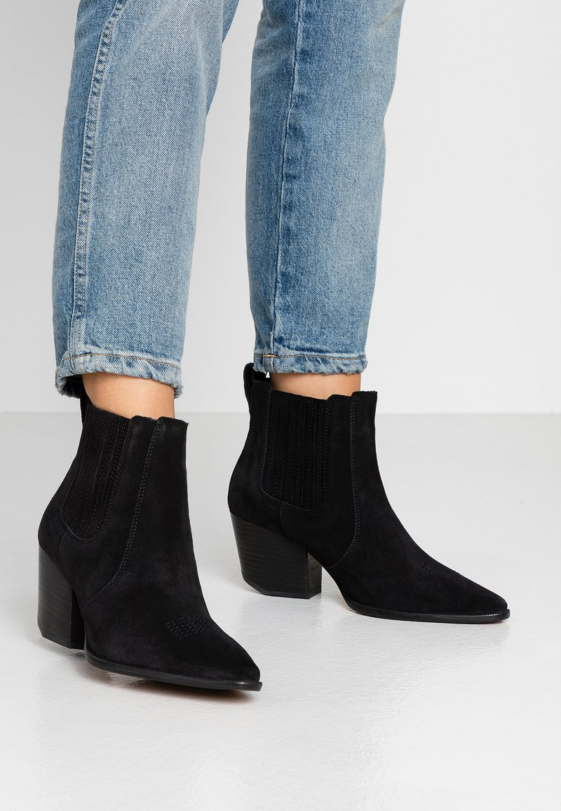 Superdry - THE EDIT CHUNKY CHELSEA - Ankle boots - black