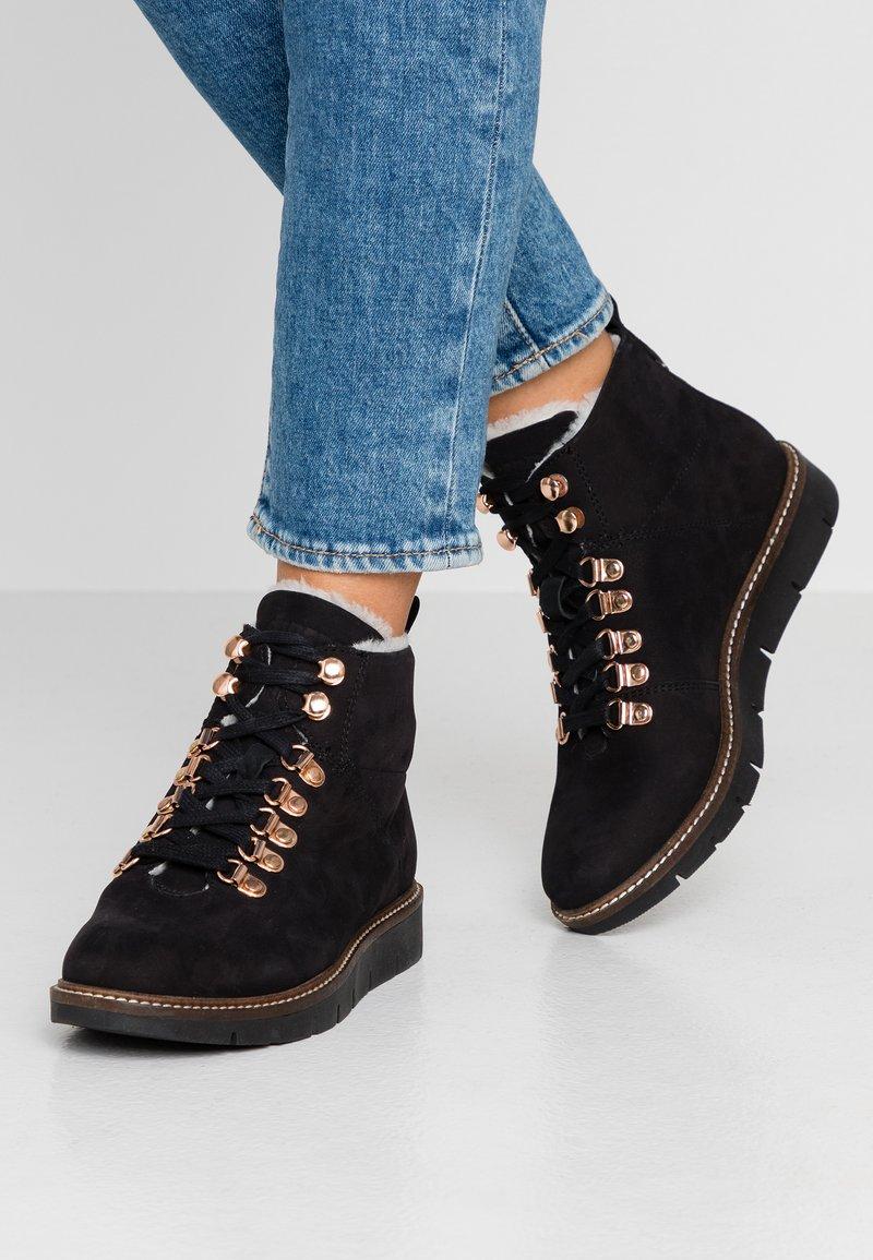 Superdry - STUDIO HIKER  - Ankle boots - black