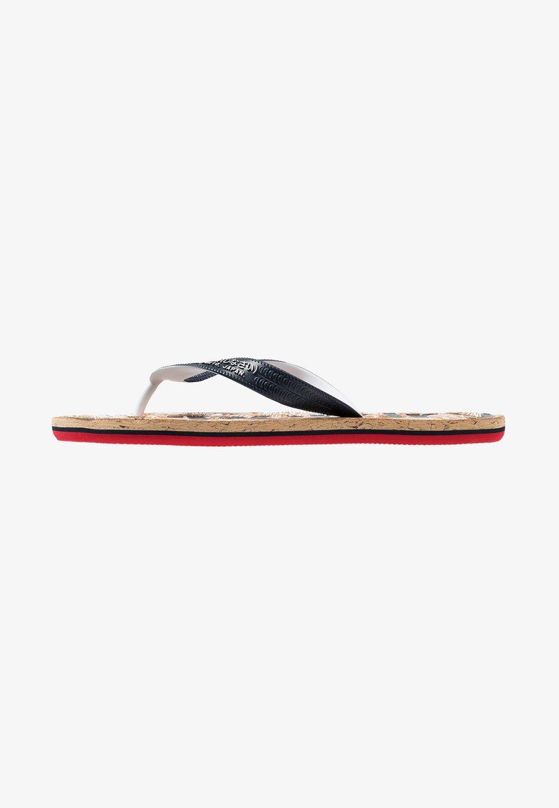 Superdry - Klipklappere/ klip klapper - salute navy/high risk red