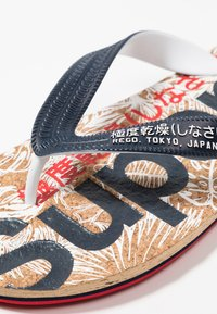 Superdry - Pool shoes - salute navy/high risk red - 5