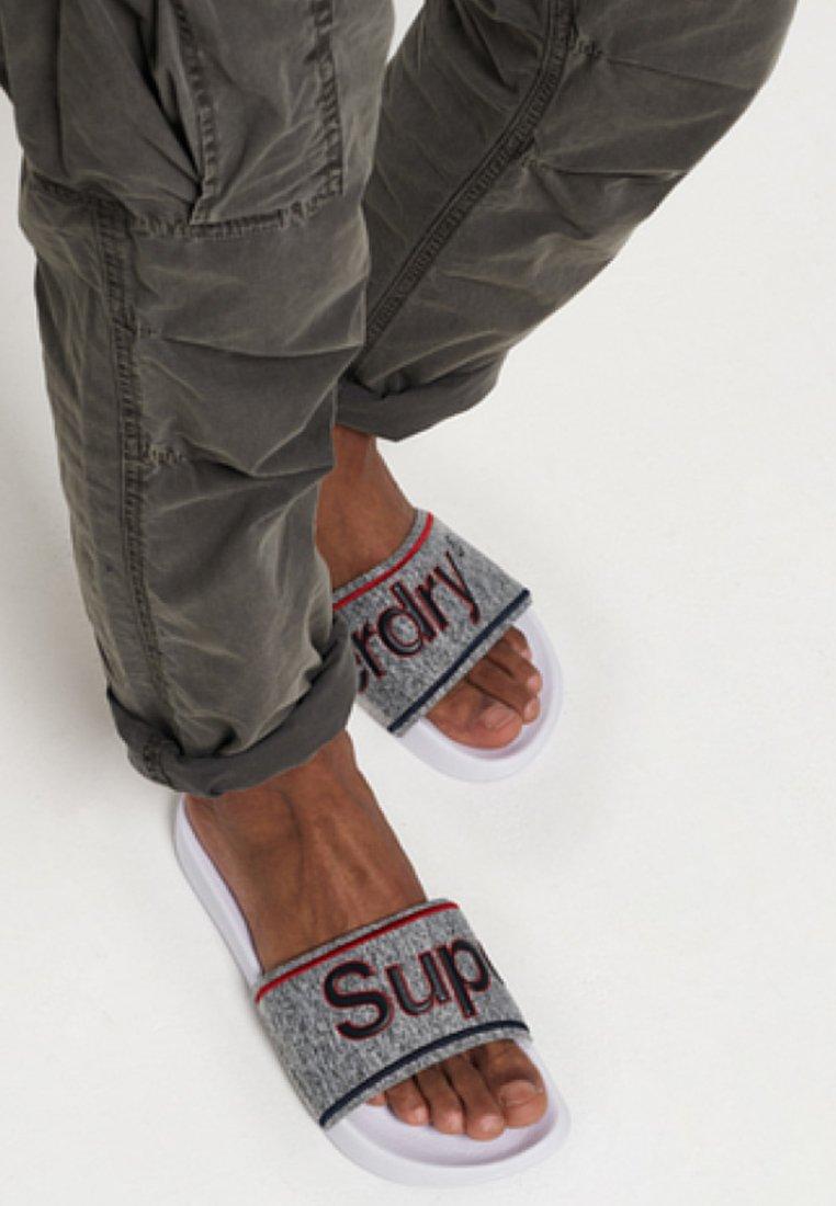 Superdry - College - Badesandale - grey