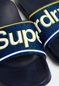 Superdry - College - Badesandale - blue - 3