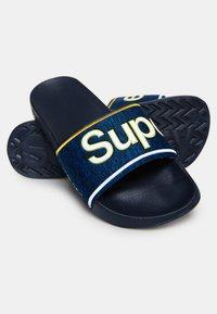 Superdry - College - Badesandale - blue - 2