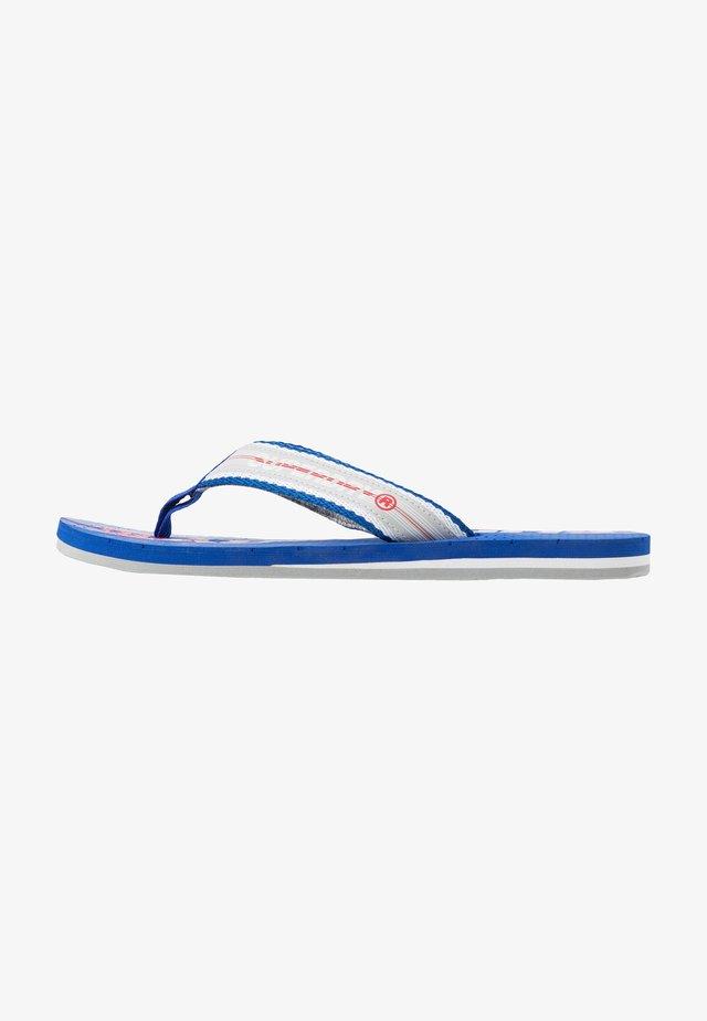 TROPHY - T-bar sandals - true blue