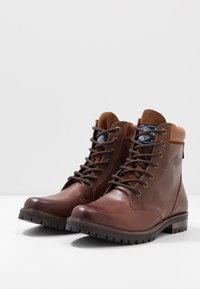 Superdry - RIPLEY LACE UP BOOT - Veterboots - red brown - 2