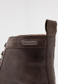 Superdry - SHOOTER BOOT - Lace-up ankle boots - brown - 5