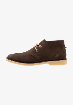 RALLIE BOOT - Chaussures à lacets - light brown/natural
