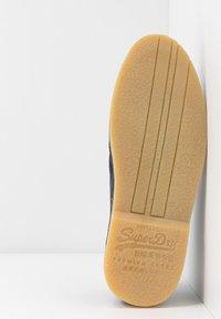 Superdry - WINTER RALLIE BOOT - Zapatos con cordones - eclipse navy - 4