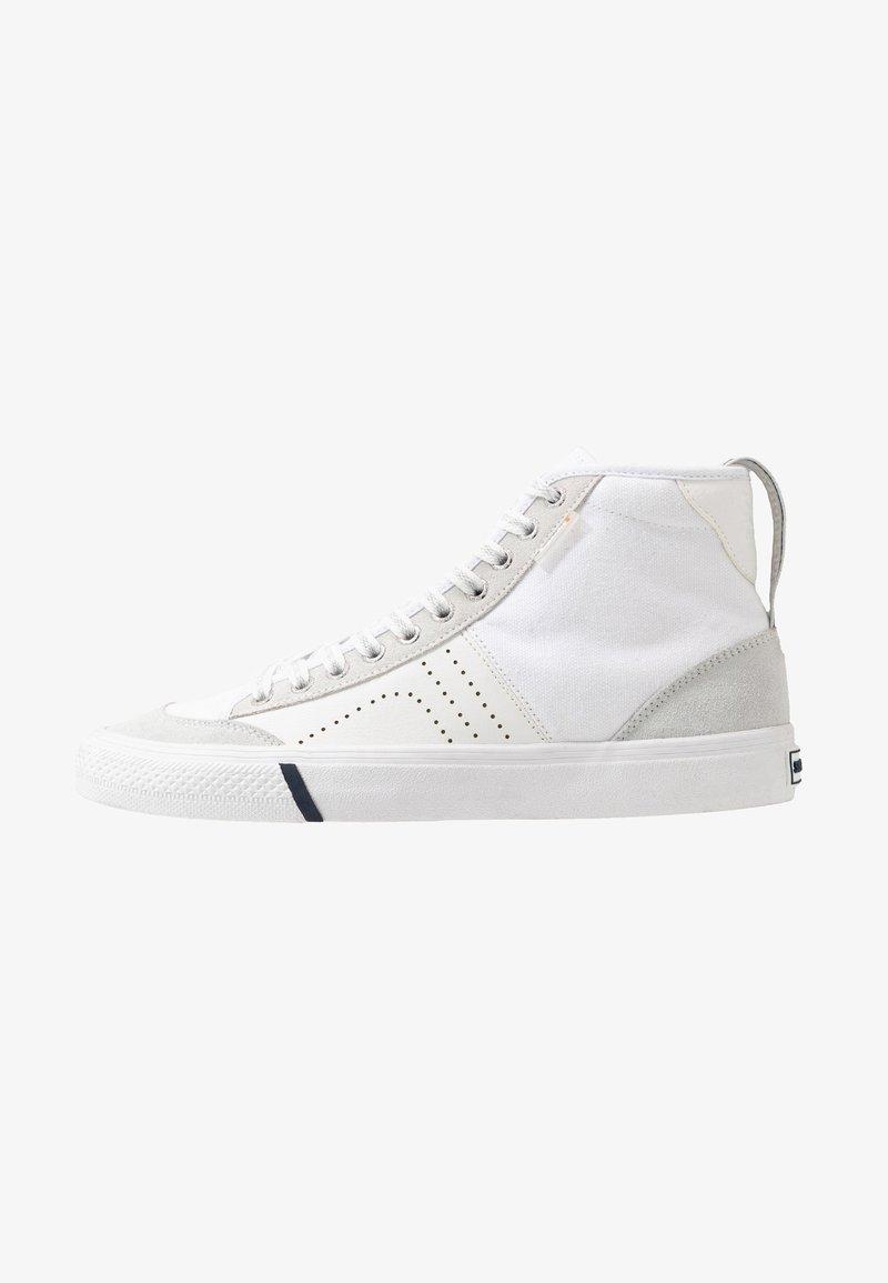 Superdry - SKATE CLASSIC - Höga sneakers - white