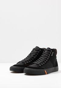 Superdry - SKATE CLASSIC - Zapatillas altas - black - 2