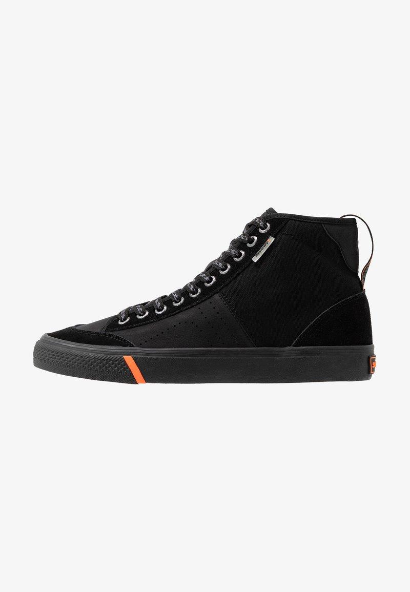 Superdry - SKATE CLASSIC - Zapatillas altas - black