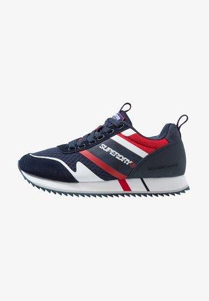 FERO RUNNER - Sneaker low - dark navy/white/true red