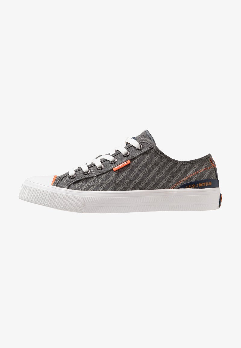 Superdry - TROPHY CLASSIC  - Zapatillas - charcoal marl/grey