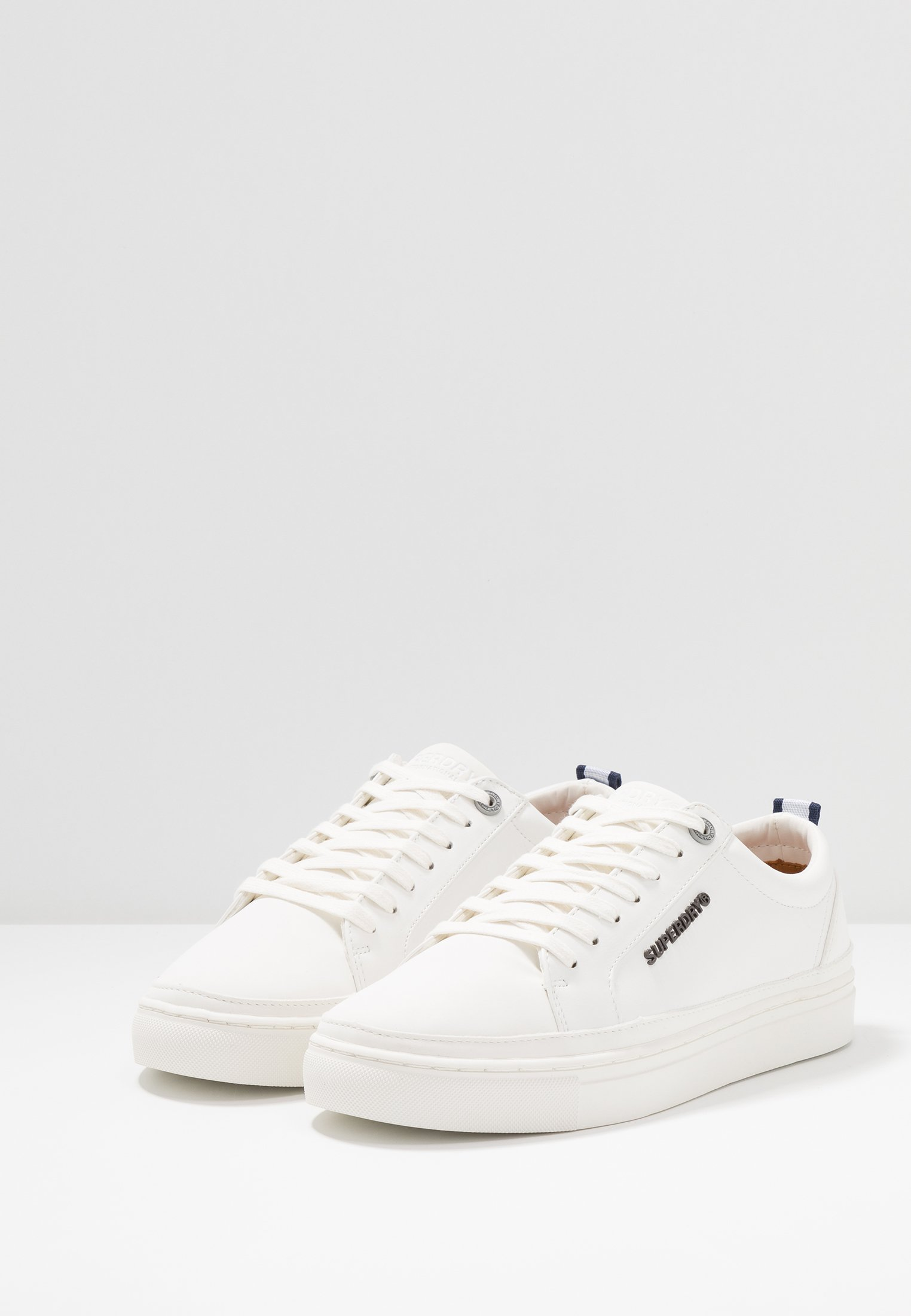 Superdry TRUMAN LACE UP - Sneakers basse - white