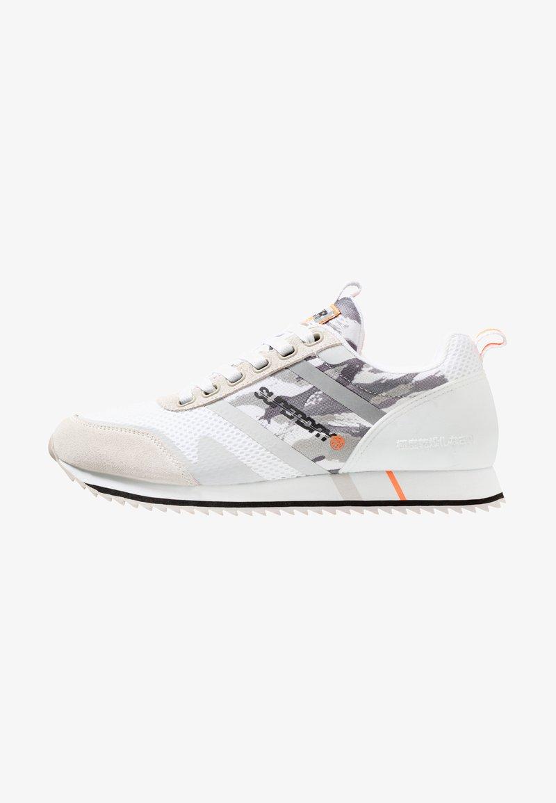 Superdry - FERO RUNNER - Zapatillas - white/ice