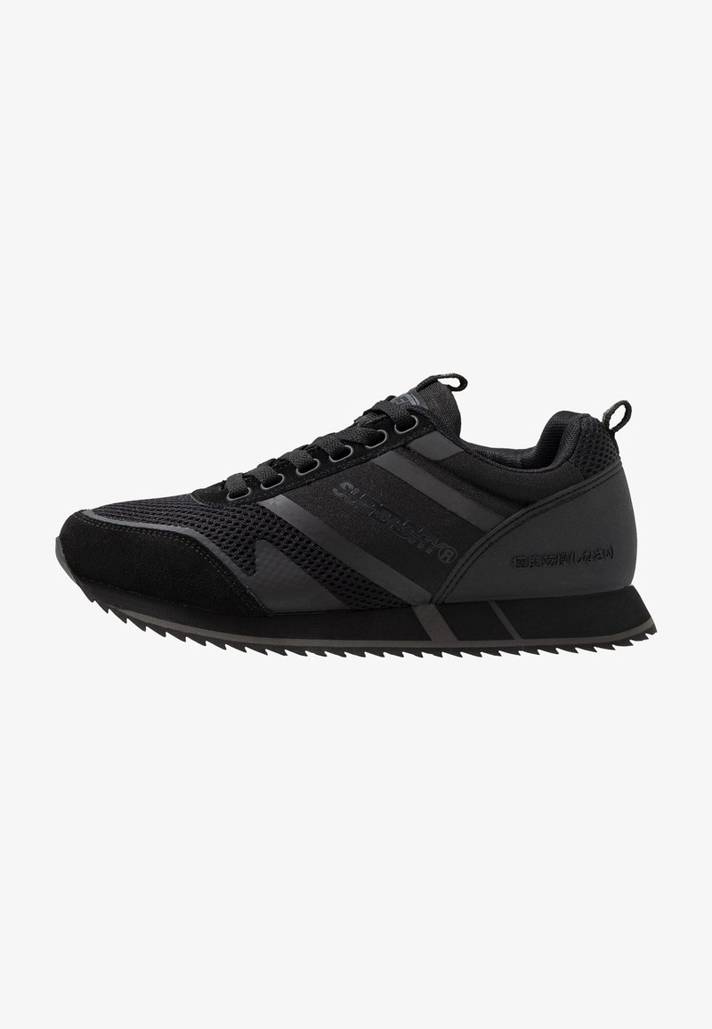 Superdry - FERO RUNNER - Sneakers laag - black